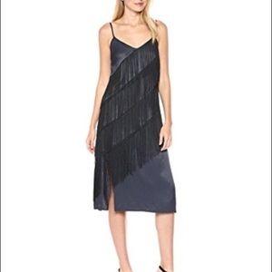 Nic+Zoe fringe slip dress NWT size 8